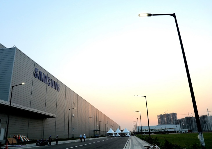 Image result for samsung new india factory