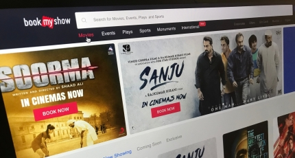 India's BookMyShow pulls in $100M to grow its online