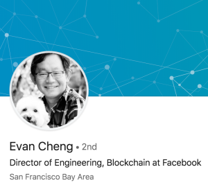 One of Facebook's most senior engineers just became Director of Engineering, Blockchain