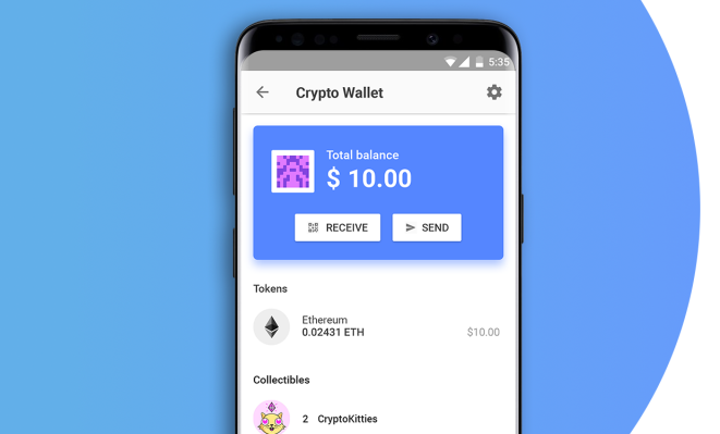 - Screen Shot 2018 07 11 at 10 - Opera adds a crypto wallet to its mobile browser – TechCrunch