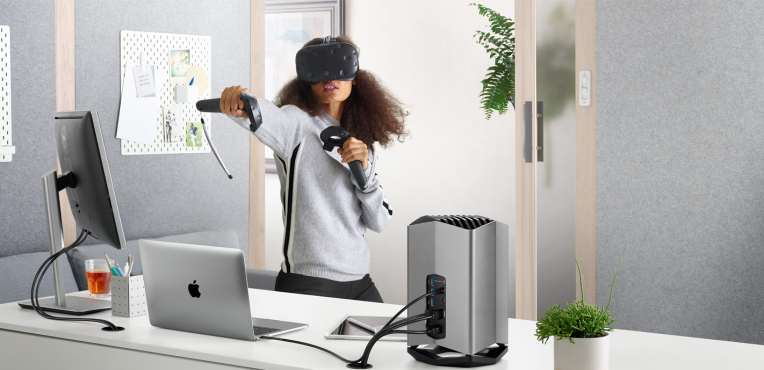 photo image Apple partnered with Blackmagic Design on an external GPU for MacBooks