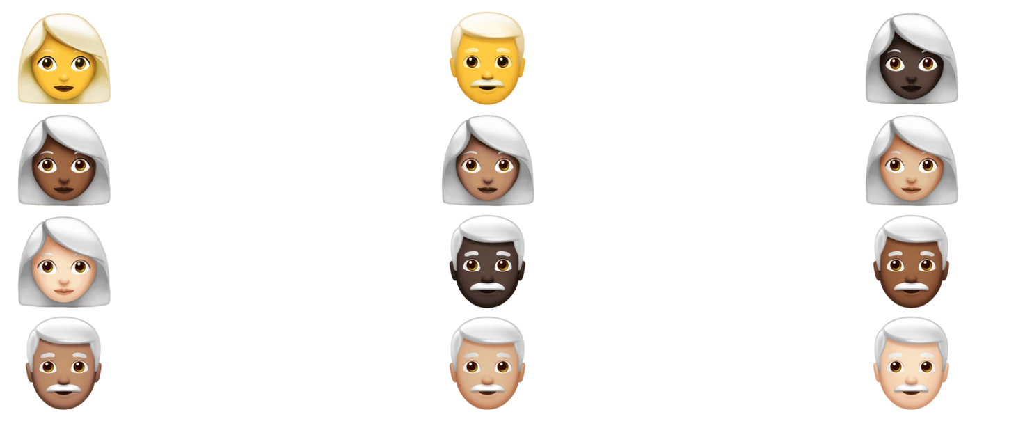 Apple emoji will soon include people with curly hair, white hair and superpowers Screen Shot 2018 07 16 at 9