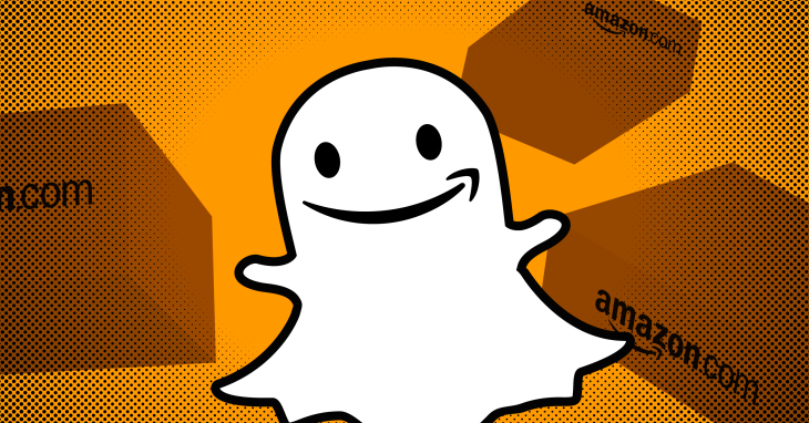 Snapchat code reveals team-up with Amazon for 'Camera Search' | Social News 1