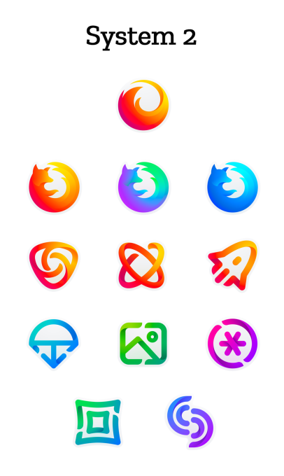 Firefox is getting a new logo (or 10) System 2