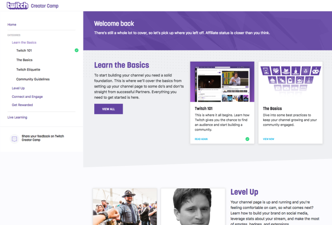 Twitch launches a 'how-to' site for streamers, Twitch