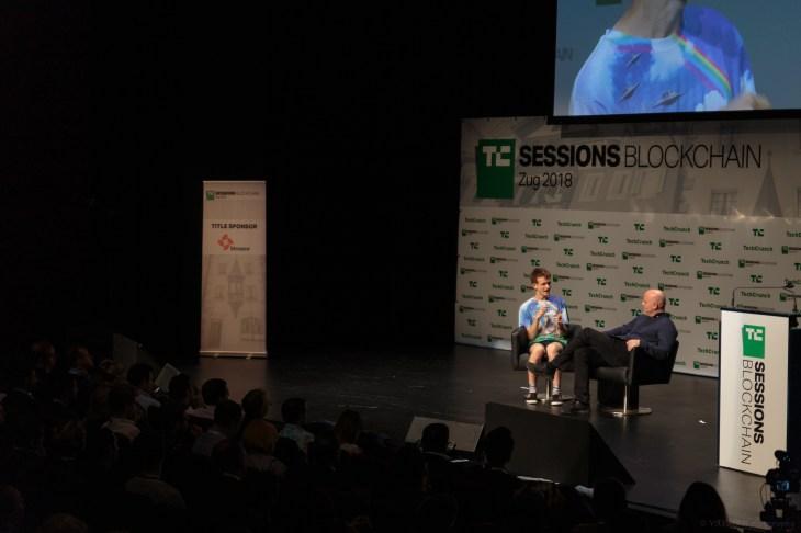 Vitalik Buterin – Ethereum – TC Sessions Blockchain