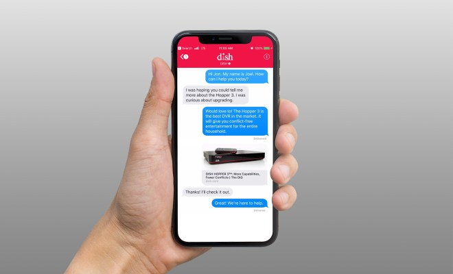 Dish is the first TV provider to offer support for Apple's Business Chat ...