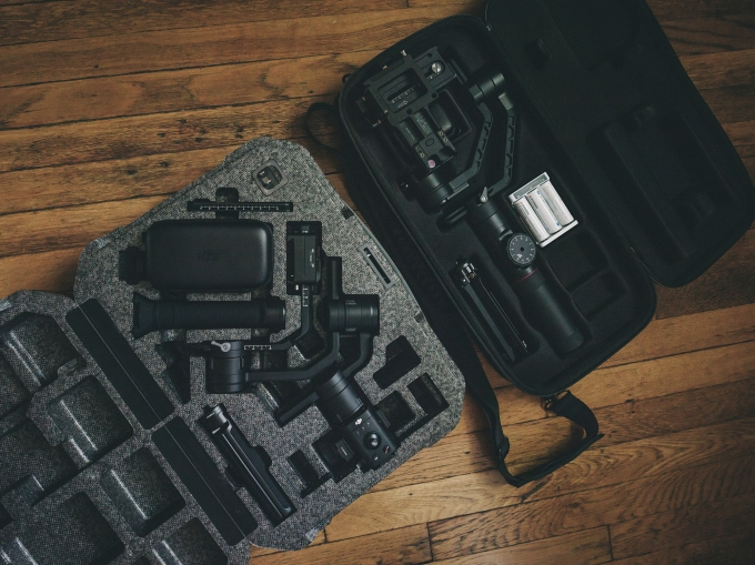 DJI Ronin-S and Zhiyun Crane 2 cases