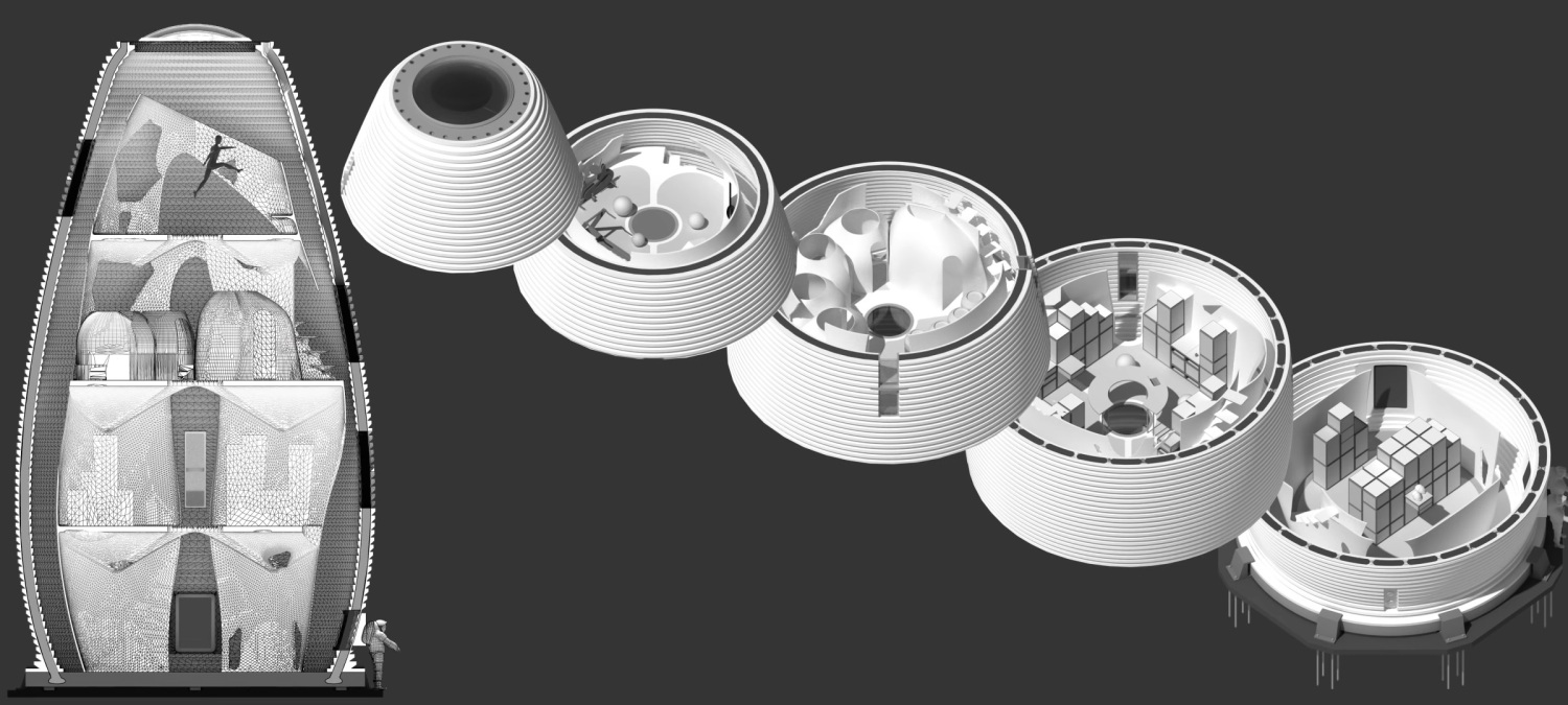 NASA's 3D-printed Mars Habitat competition doles out prizes to