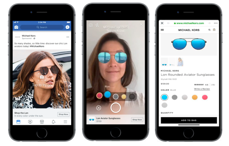 Facebook is testing augmented reality ads in the News Feed