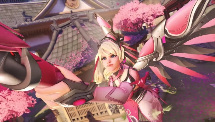 overwatch pink mercy sale raises 12m for breast cancer research