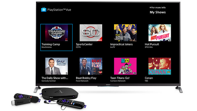 Sony's streaming TV service PlayStation Vue raises its