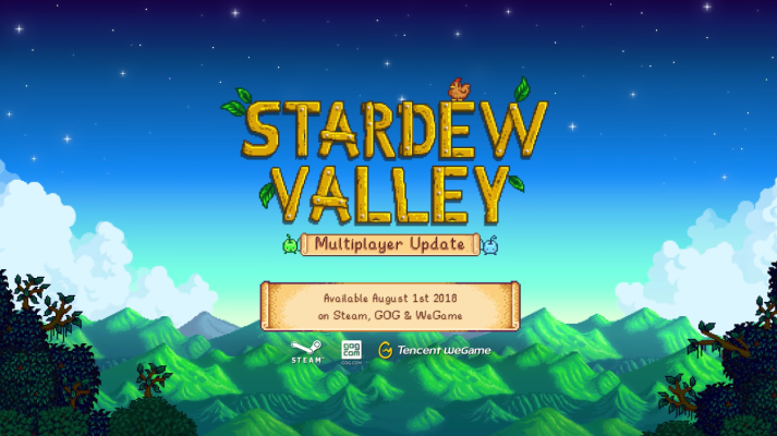 Indie gem Stardew Valley will get multiplayer on August 1st