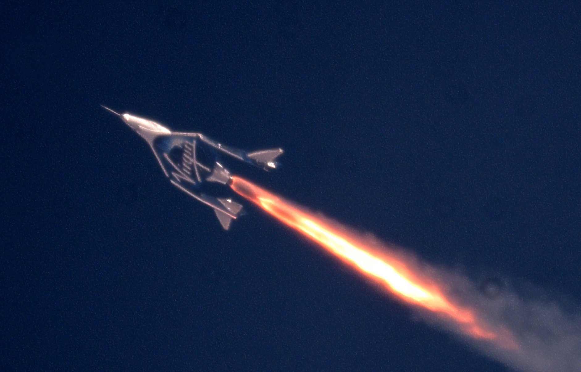 Virgin Galactic's third supersonic test flight hits Mach 2 and 170,000 feet