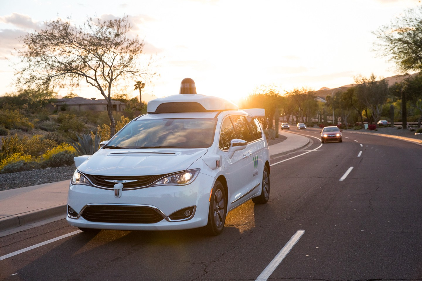 Waymo offers public rides in driverless cars in Phoenix