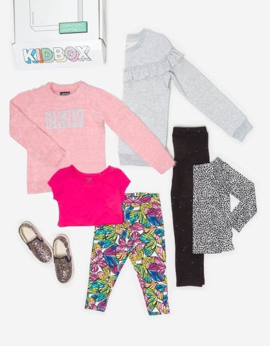 Subscription startup Kidbox launches its own clothing lines
