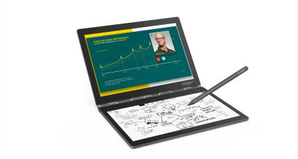 Lenovo's Yoga Book C930 swaps the keyboard for an E Ink