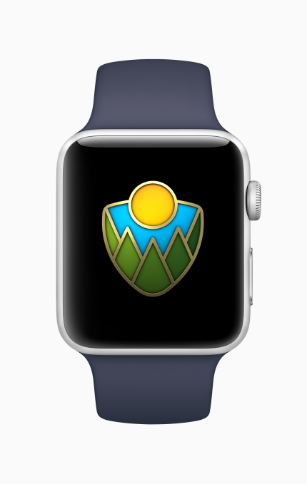 Apple to launch a National Parks donation program via Apple Pay Apple Watch National Parks Badge Screen 08232018