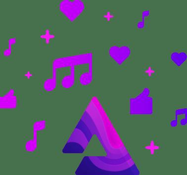 Audius Logo - Soundcloud on the blockchain? Audius raises $5.5M to decentralize music – TechCrunch