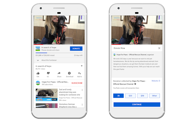 YouTube launches a suite of fundraising tools