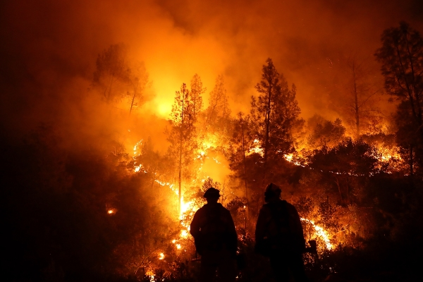 As California burns, climate goals may go up in smoke—even after the flames are out