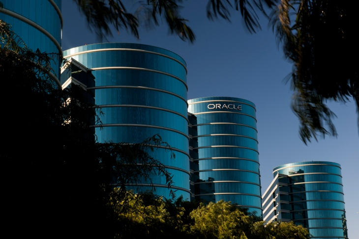 Views of Oracle Corp. Headquarters Ahead Of Earnings Data