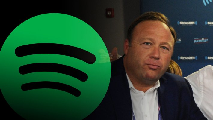 Spotify Becomes the Latest Tech Platform to Reject Alex Jones