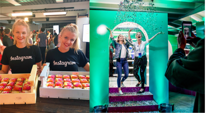 For IGTV, Instagram needs slow to mean steady IGTV Launch Event Vickis Donuts mai lanpham