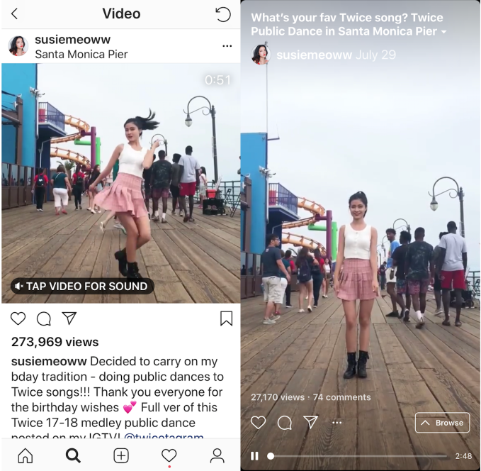 For IGTV, Instagram needs slow to mean steady IGTV VS INSTAGRAM FEED