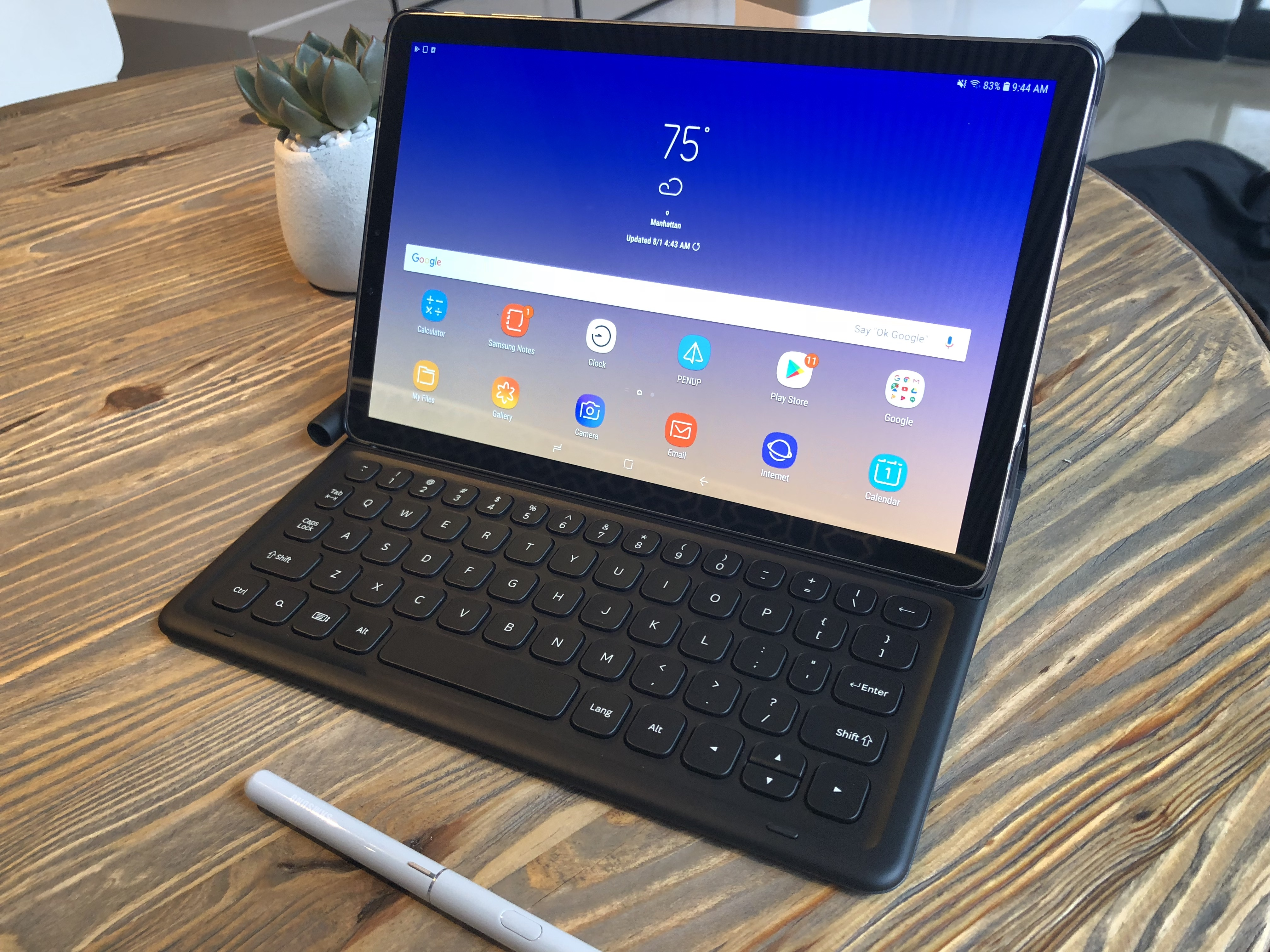 samsung thinks the galaxy tab s4 can replace your laptop techcrunch rh techcrunch com