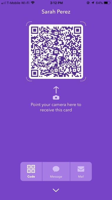 - IMG 3064 - CardMunch founder returns with HiHello, a new app aiming to replace business cards – TechCrunch