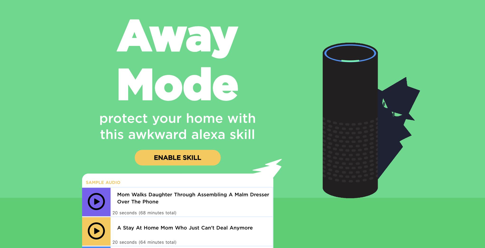 Scare off burglars with this ridiculous Alexa skill | TechCrunch