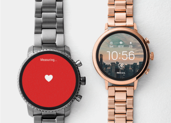 Fossil announces new update to Android Wear watches with HR tracking, GPS