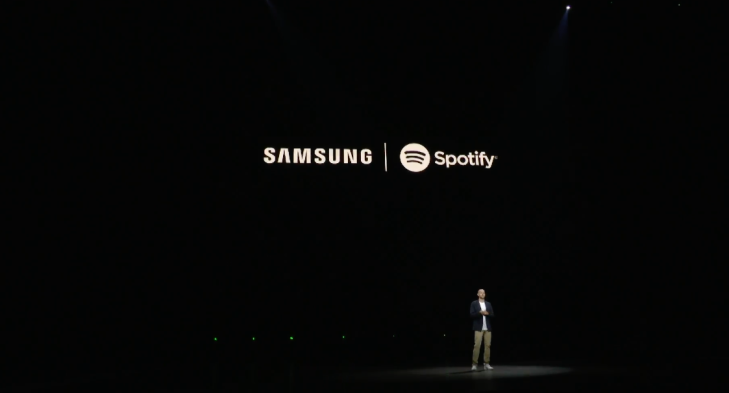 Screen Shot 2018 08 09 at 12.03.58 PM - Samsung announces Spotify as its go-to music partner – TechCrunch
