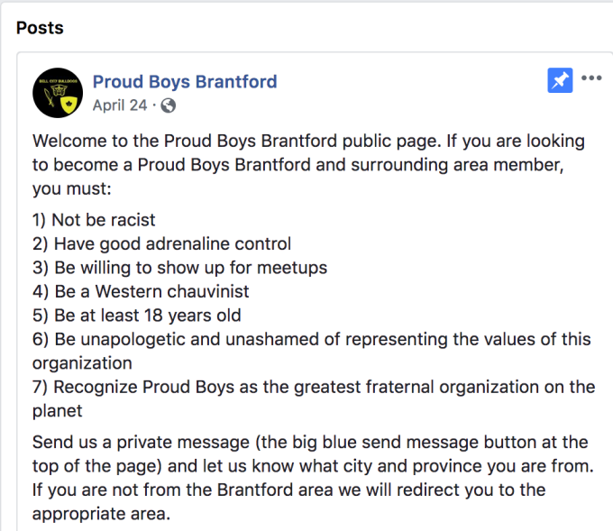 Facebook is the recruiting tool of choice for far-right group the Proud Boys Screen Shot 2018 08 10 at 5