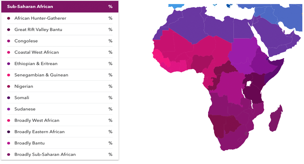 23andMe's ancestry tools are getting better for people of