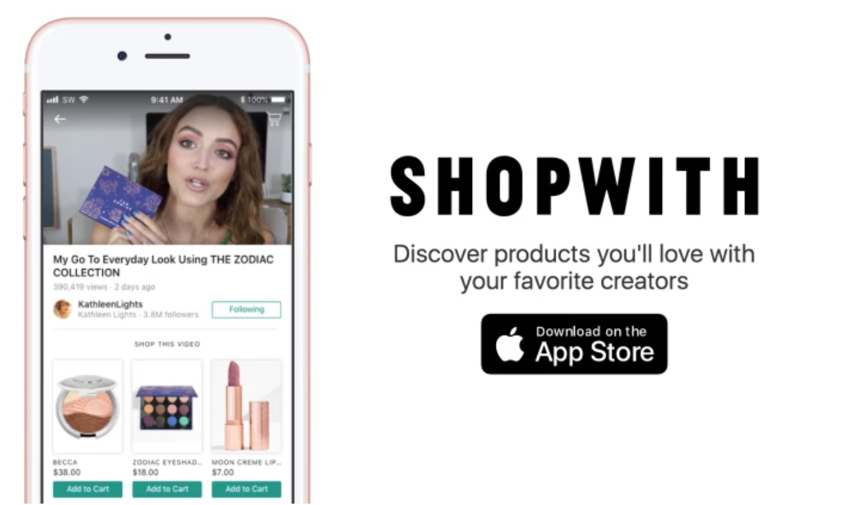Influencers of the world are uniting on mobile app, ShopWith, which allows  shoppers to browse virtual storefronts and aisles alongside their favorite  ...