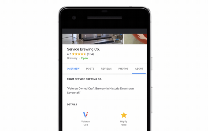 Screen Shot 2018 08 28 at 2.30.02 PM - Google adds new features to help U.S. veterans find jobs or highlight their businesses