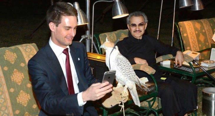 Saudi prince invests $250M in Snapchat