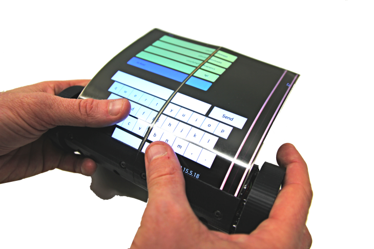 Excellent Scientists Make A Touch Tablet That Rolls And Scrolls Download Free Architecture Designs Rallybritishbridgeorg