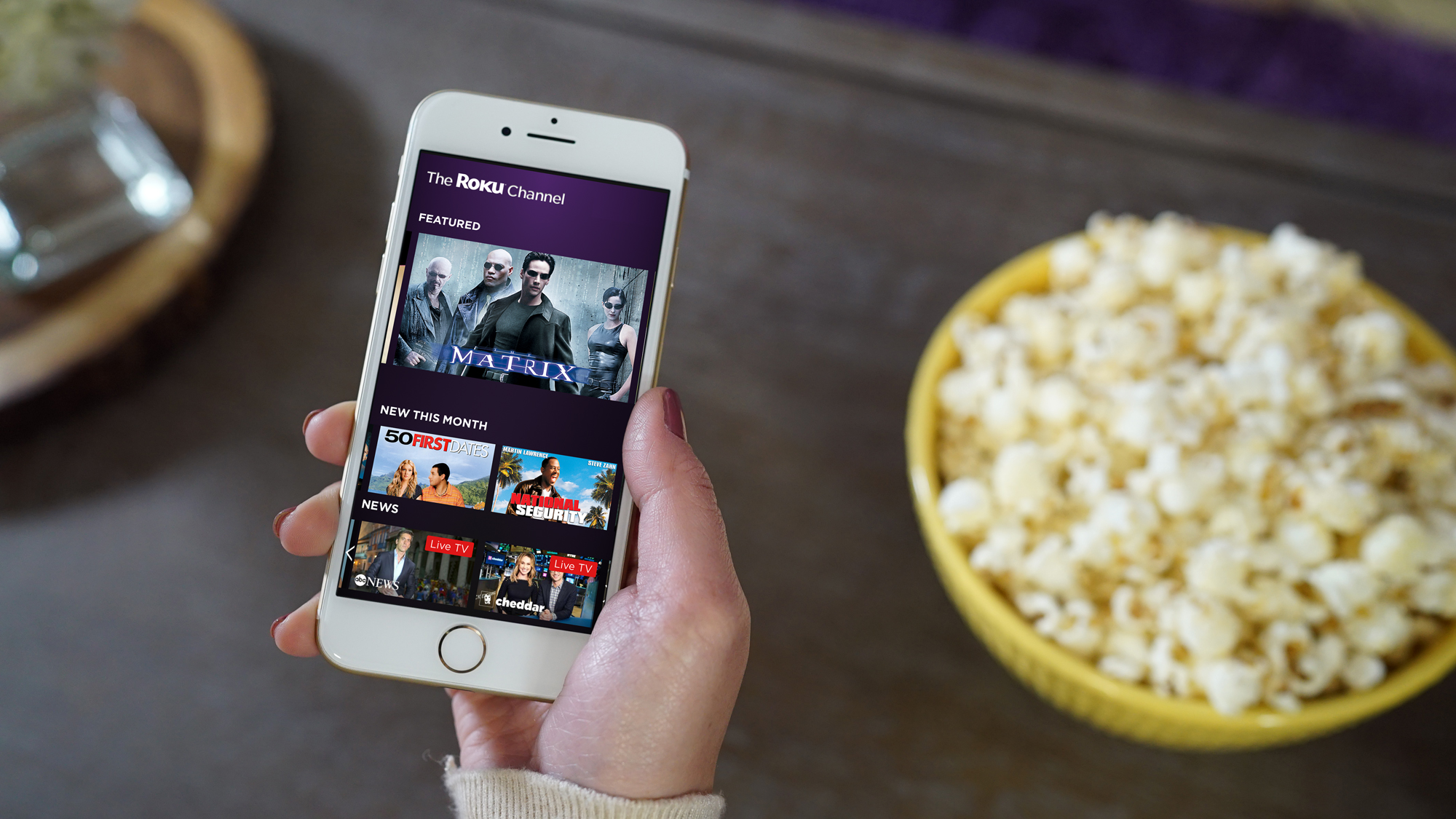 Roku's free, ad-supported streaming channel is now live on the web