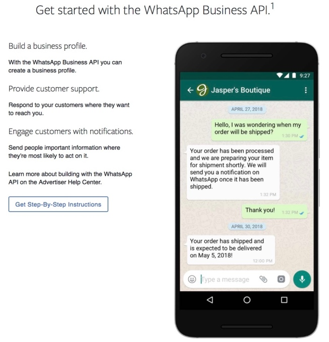 WhatsApp finally earns money by charging businesses for slow