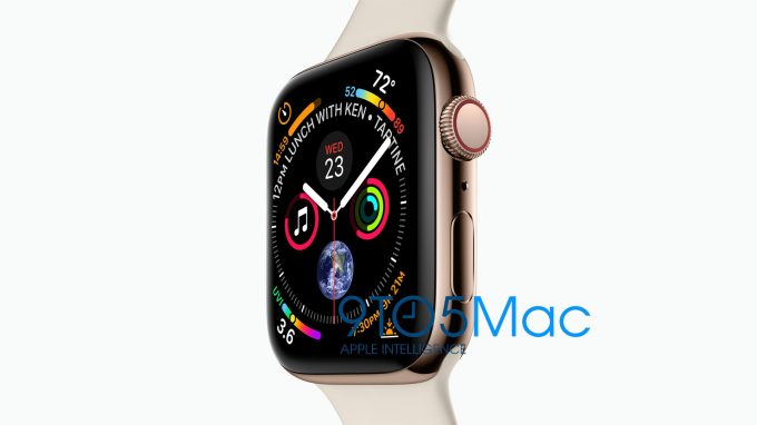 Analysts have been predicting the new watch would sport a 15% larger  display, offer extended battery life, and include upgraded health  monitoring features. f7e9fc293d