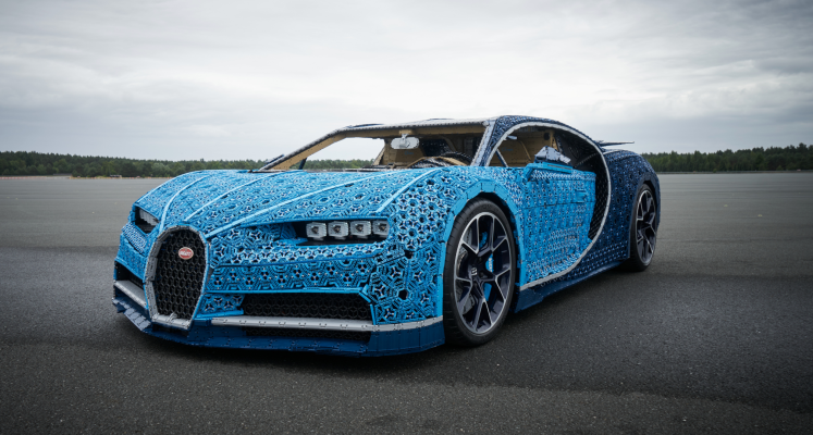 Lego Built A Life Size Drivable Bugatti From Over A Million Technic