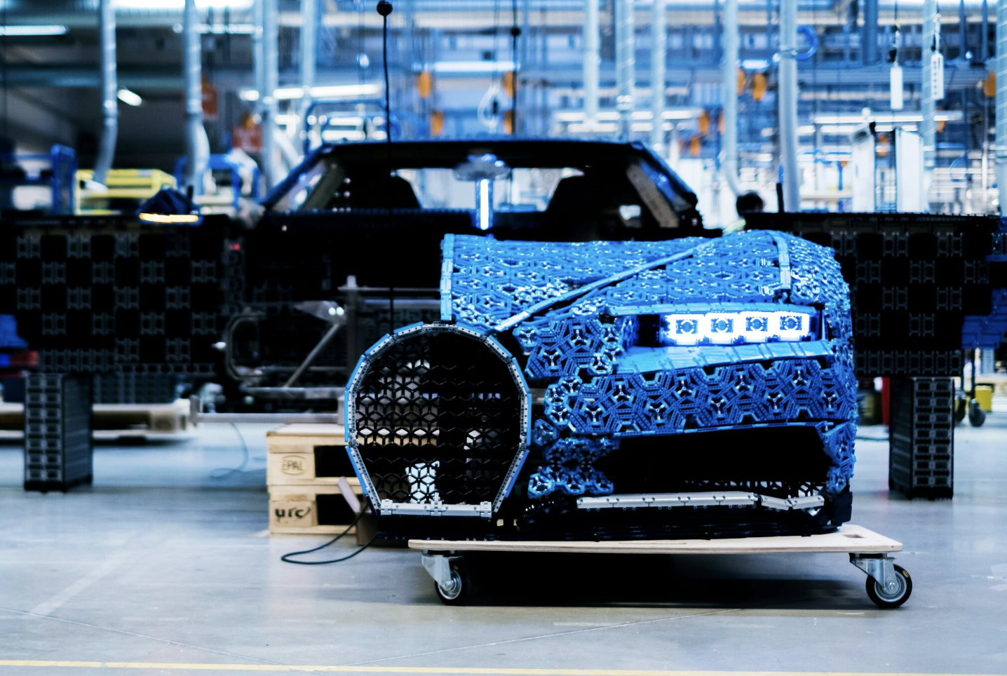 Lego Built A Life Size Drivable Bugatti From Over A Million Technic Pieces Techcrunch