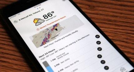 Dark Sky's top ranking weather app gets a big makeover