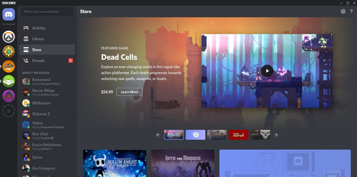 Discord is launching a game store | TechCrunch