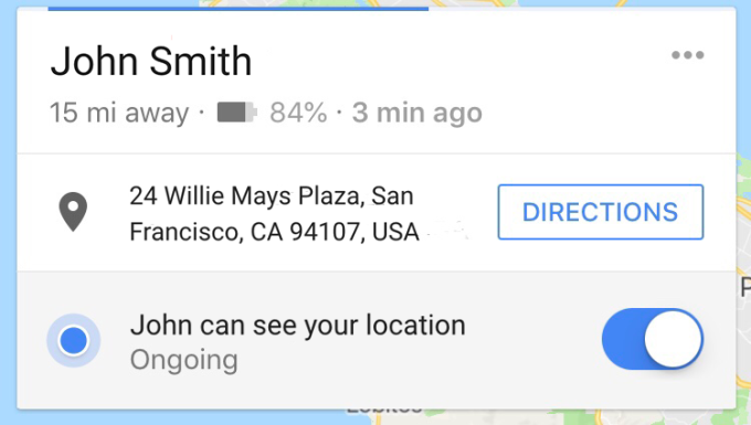 Google Maps' location sharing will now share your phone's battery status, too google maps battery