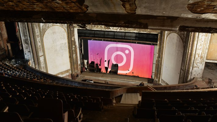 Instagram abandoned theater