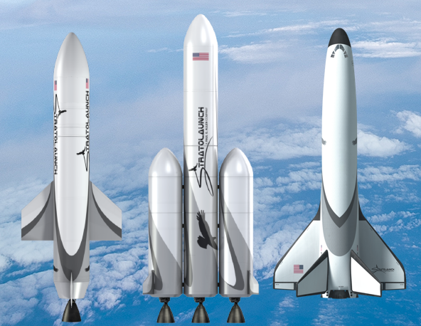 Stratolaunch announces new launch vehicles and reusable space plane launches